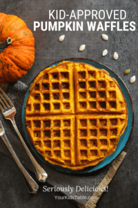 Cooking with Your Kid: Pumpkin Waffles