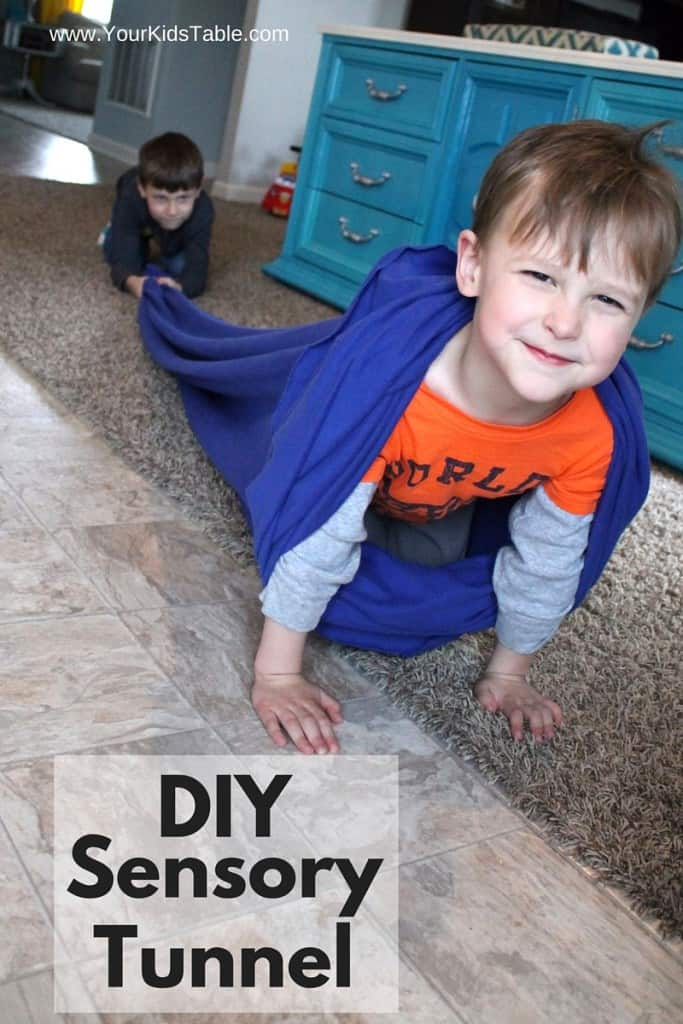 DIY Sensory Tunnel