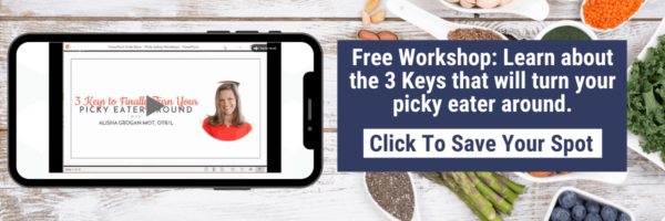 Free Workshop: Learn about the 3 Keys that will turn your picky eater around.