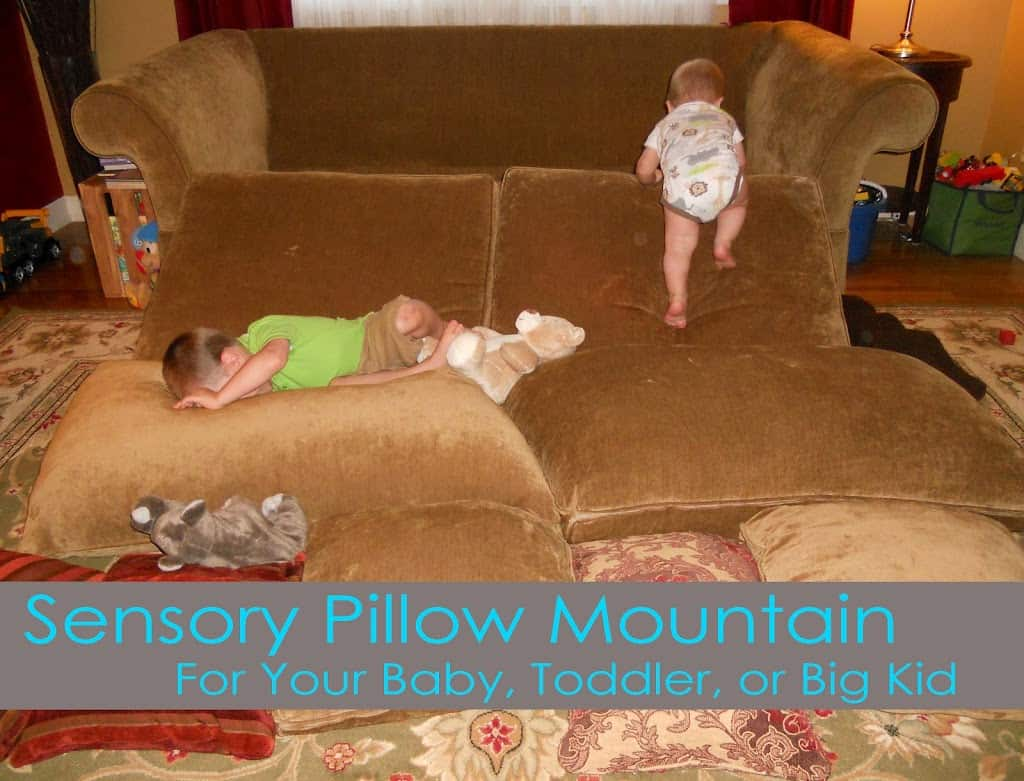 Sensory Pillow Mountain