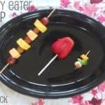 Picky Eater Tip: Put it on a Stick!