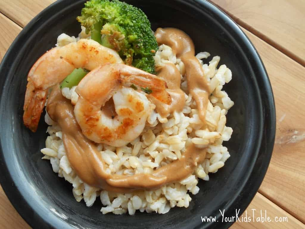 Not-Spicy Asian Peanut Sauce Recipe for Kids