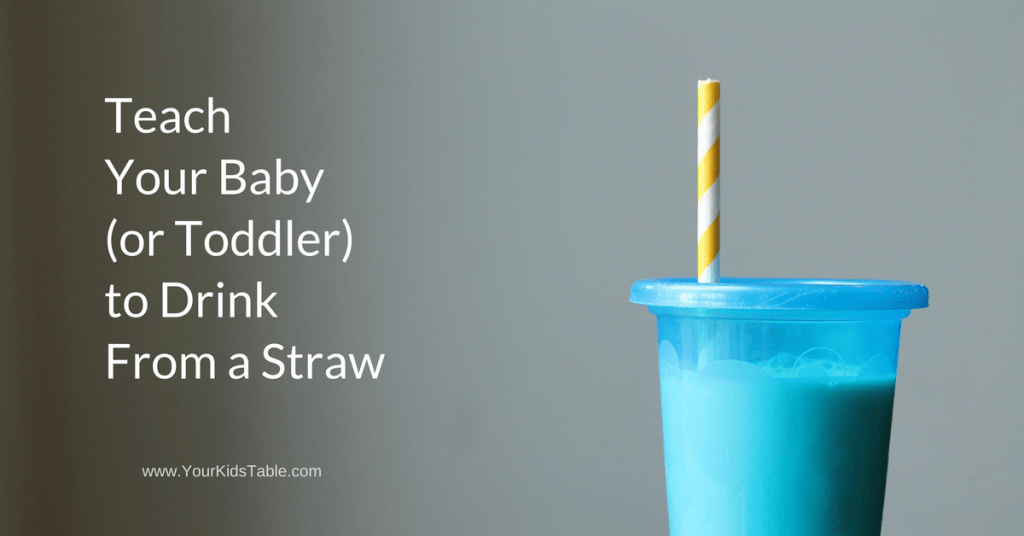 Learn how to teach your baby to drink from a straw in minutes using one of three different tricks quickly and easily. Plus, find the best straw sippy cup!