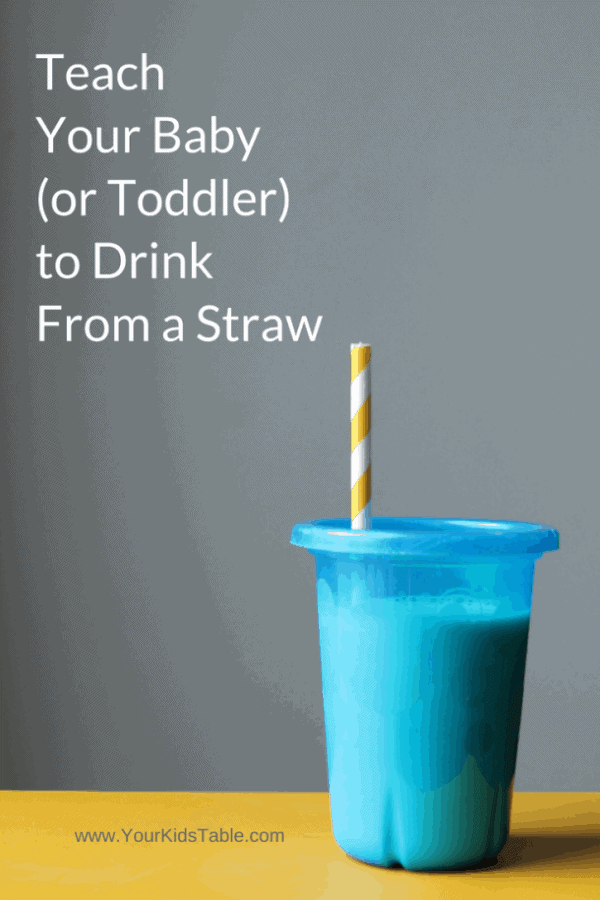 Learn how to teach baby to drink from a straw in minutes using one of three different tricks quickly and easily. Plus, discover the best straw sippy cup!