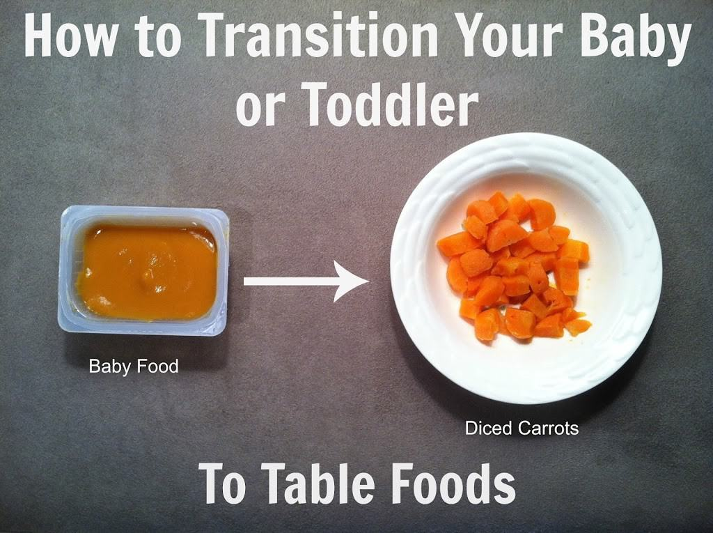 How to Transition Your Baby (or Toddler) to Table Foods {Part 1}