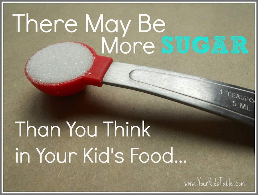 How Much Sugar is in Your Kid's Food?