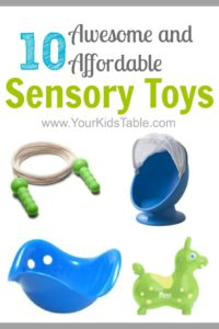 10 Awesome and Cheap Sensory Toys