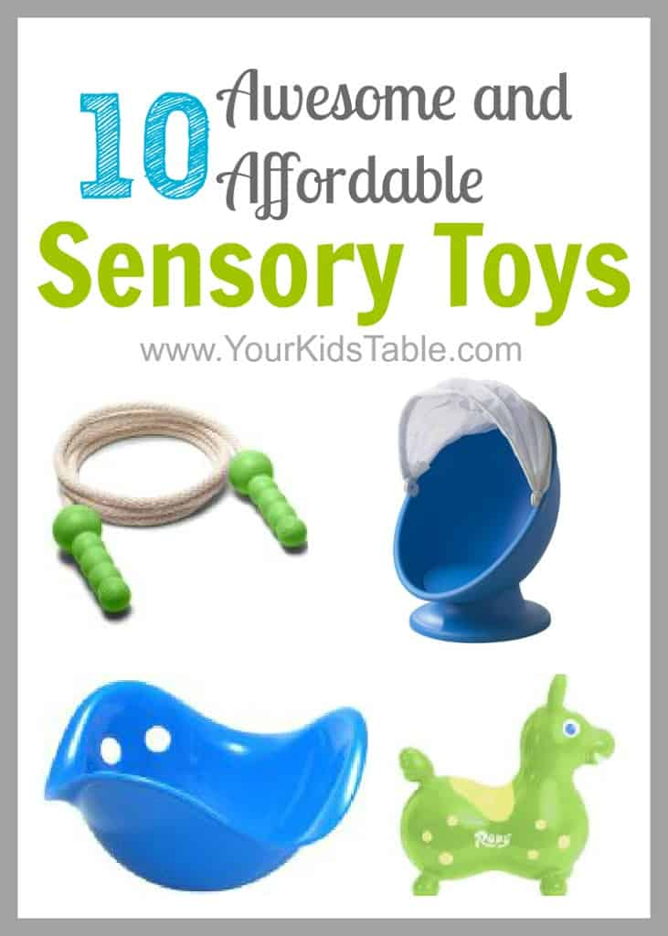 10 Awesome and Affordable Sensory Toys