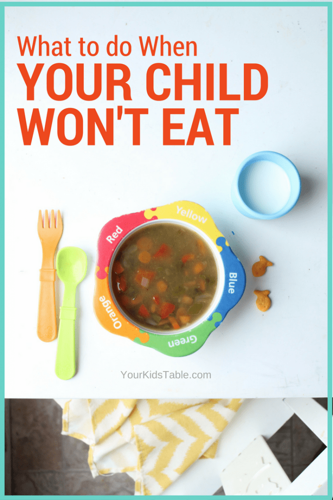 Why children won't eat and how to get them to eat when they refuse without any battles or tears.