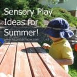 Sensory Play Ideas for Summer!