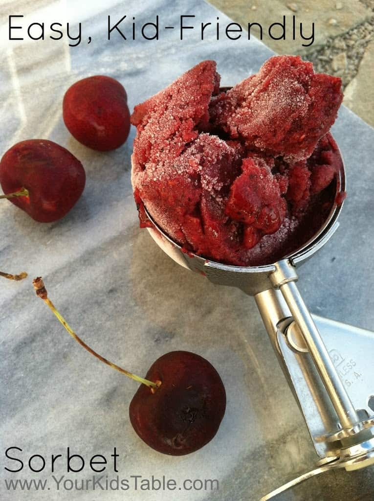 Easy Sorbet Recipe for Kids