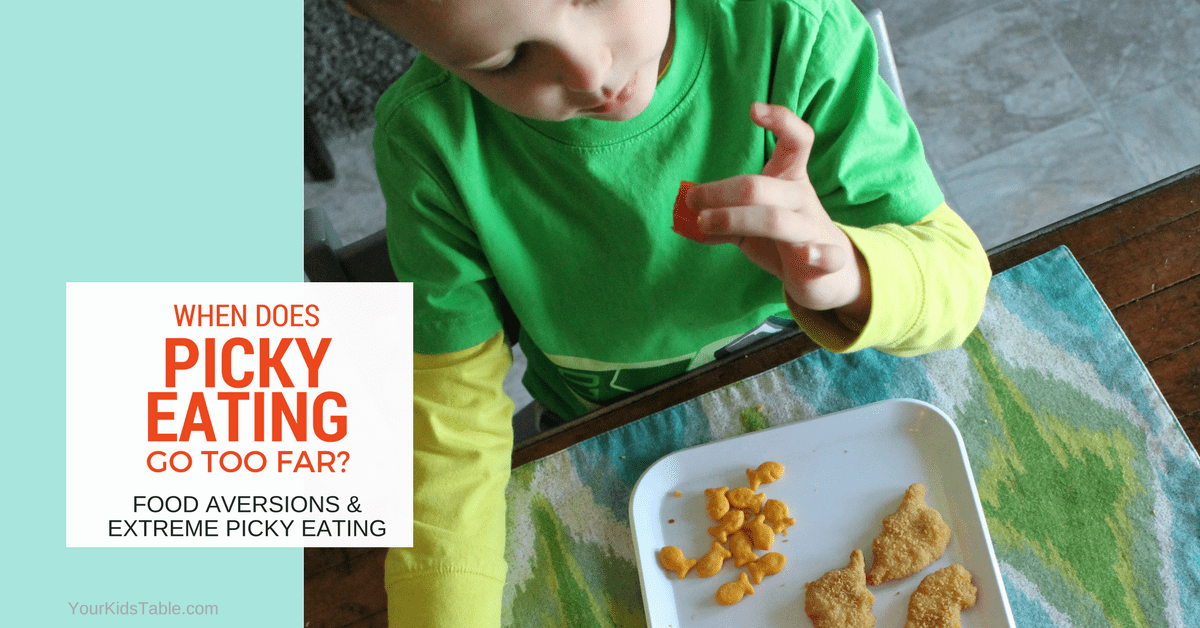 Taking Picky Eating To Extreme >> Has Picky Eating Gone Too Far Food Aversion Disorders In Kids