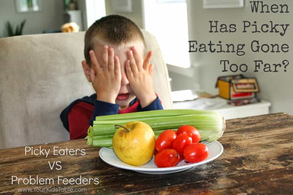 What does it really mean for a child to be a picky eater? Find out when it becomes a food aversion disorder, extreme picky eating, or a food phobia.