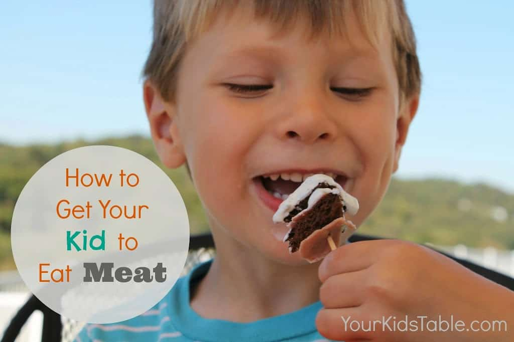 How to Get Your Kid to Eat Meat