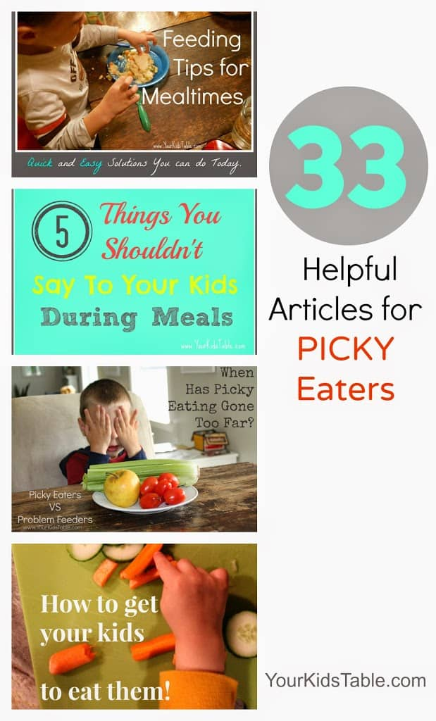 Overcoming Picky Eating: {30+ Strategies, Tips, and Ideas}