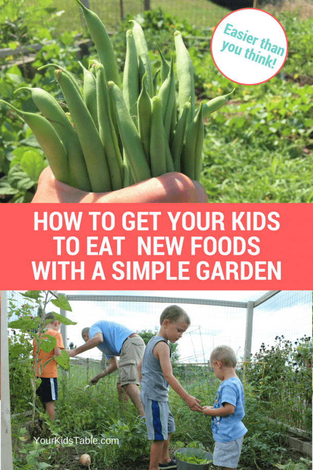 Gardening with Kids: Improve Your Kid's Eating!
