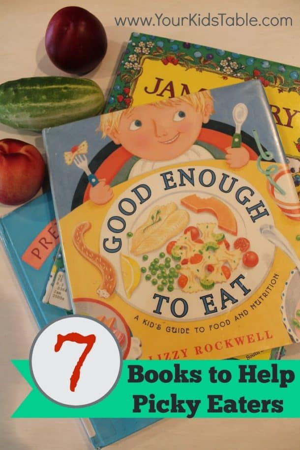 Children's Books to Help with Picky Eating