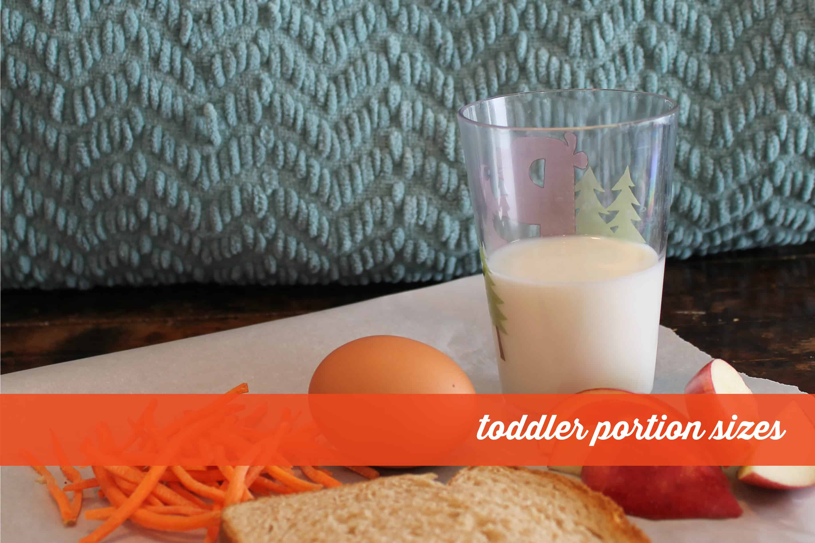toddler portion sizes