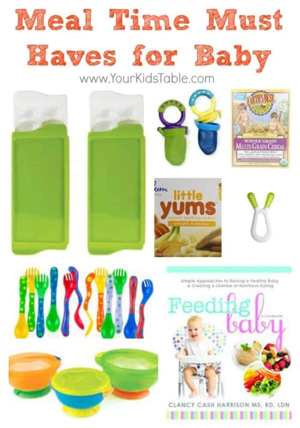 Mealtime Must Haves for Baby