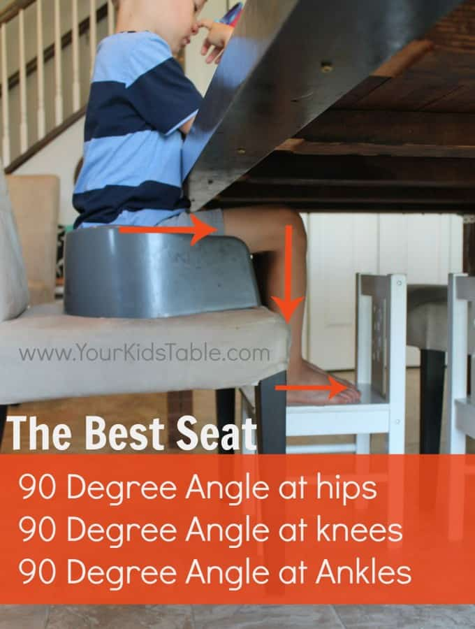 Best Seating Position for Kids