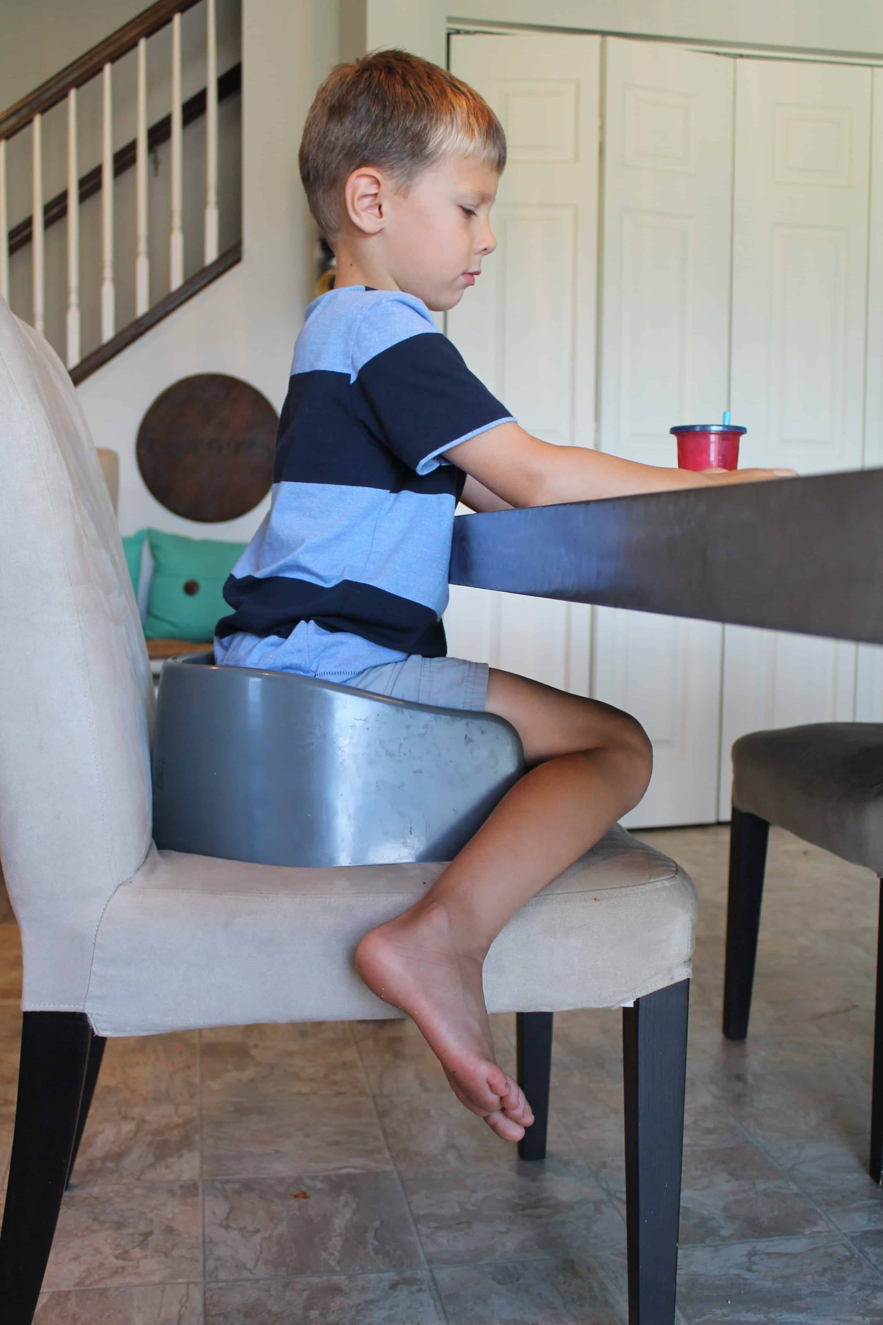 Best Seated Position For Kids During Mealtime