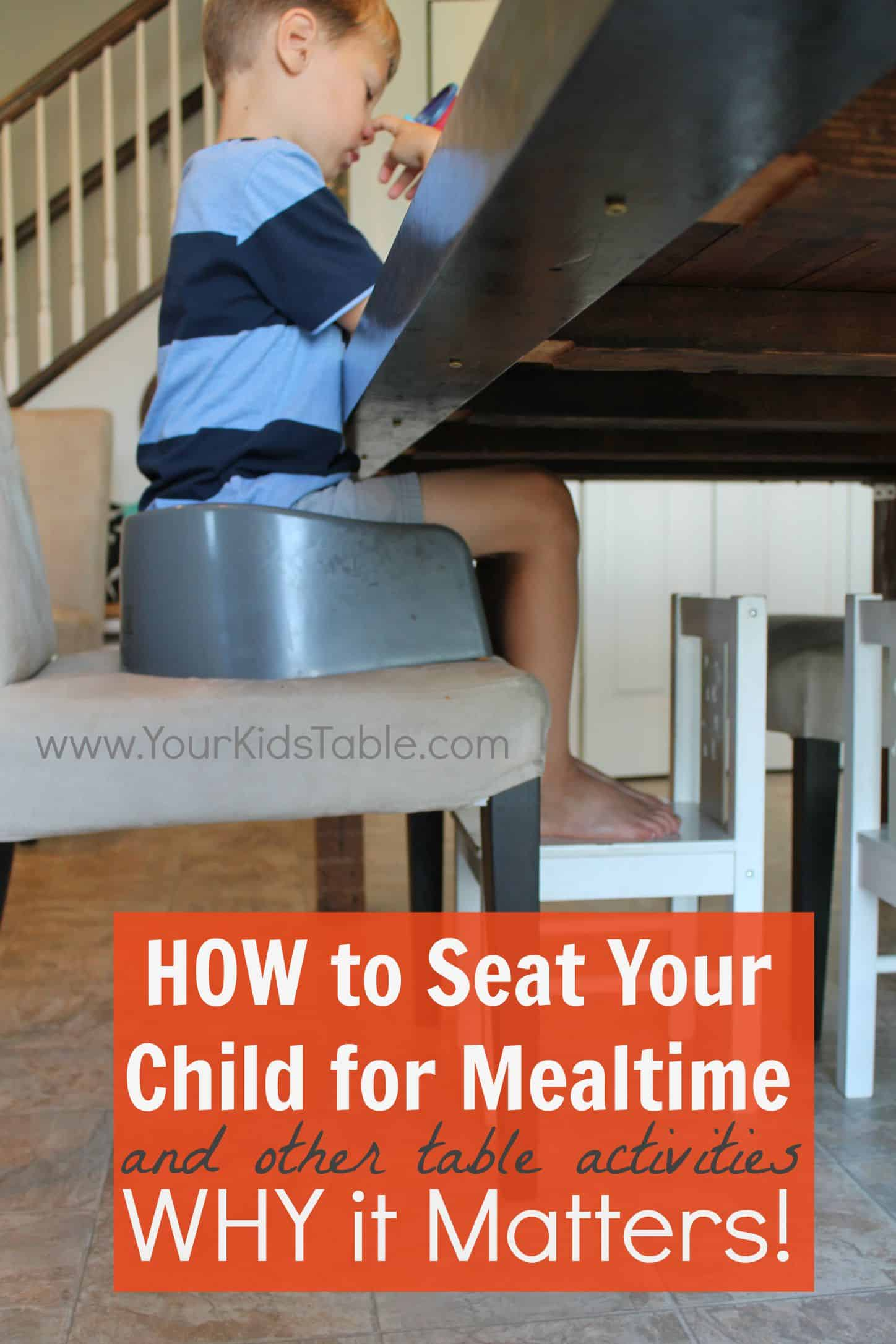 Pleasant Best Seated Position For Kids During Mealtime Gamerscity Chair Design For Home Gamerscityorg