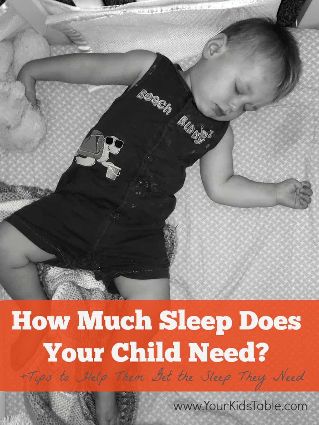 How Much Sleep Does Your Child Need?