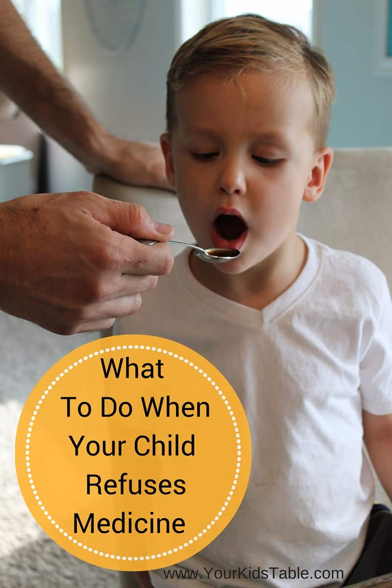 How to Help Picky Eaters Take Medicine