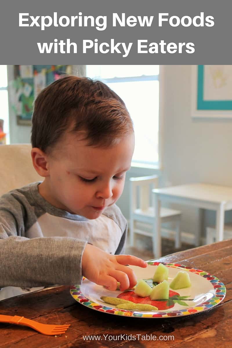 """Getting Your """"Picky"""" Eater to Explore New Foods"""