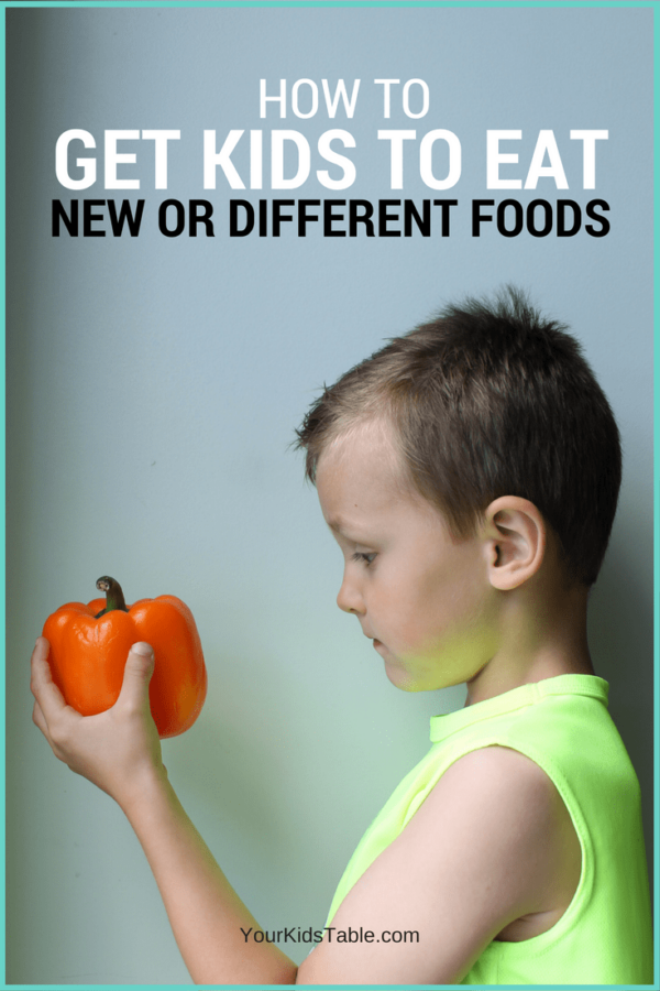 """Find a real do-able strategy to the elusive question, """"how to get kids to eat,"""" especially new foods or one's they refuse so they can eat a wider variety!"""