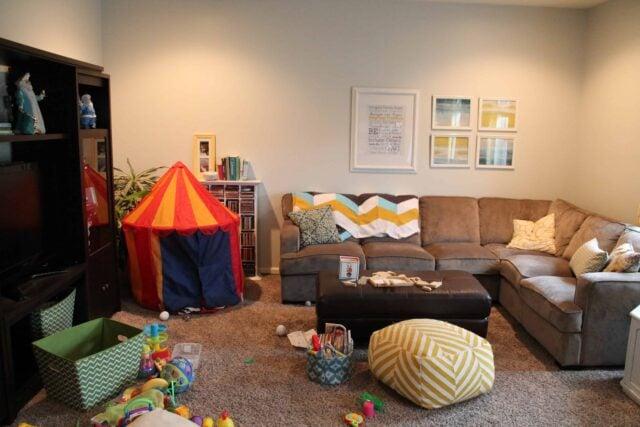 DIY sensory tent