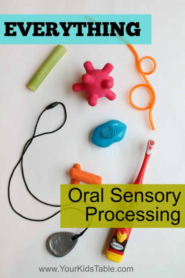Everything you need to know about oral sensory! What it is, why it matters, and what oral sensory activities you can use for oral seekers and oral avoiders. This is the ultimate guide!