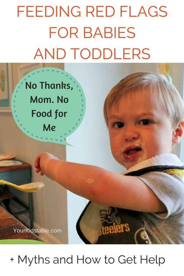 Feeding Red Flagsfor Babies and Toddlers