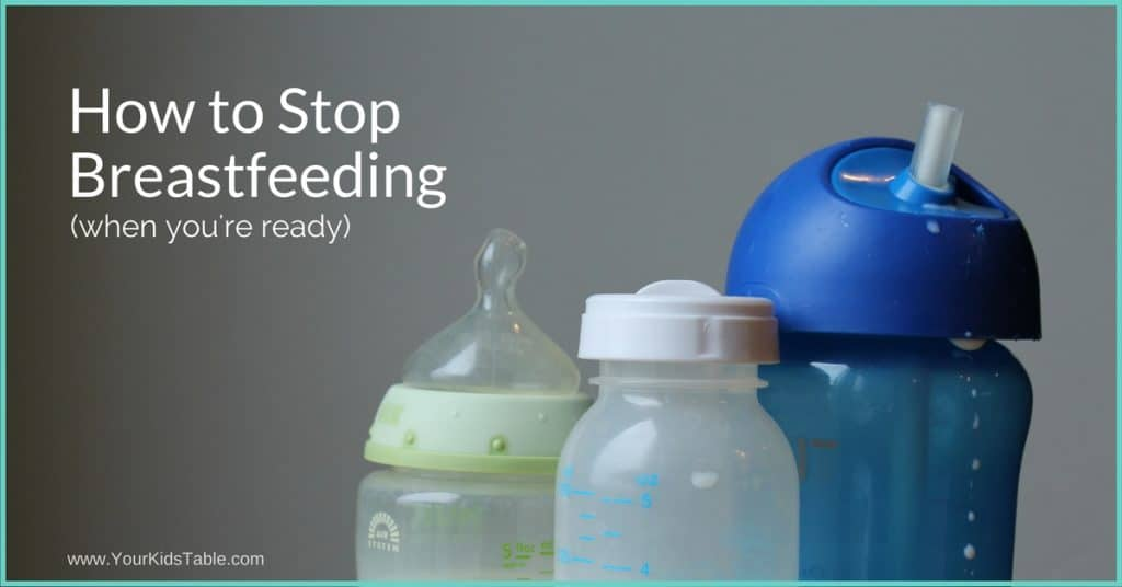 Stopping breastfeeding can be an emotional and physical transition. You'll learn how to stop breastfeeding whenever you're ready or need to wean.