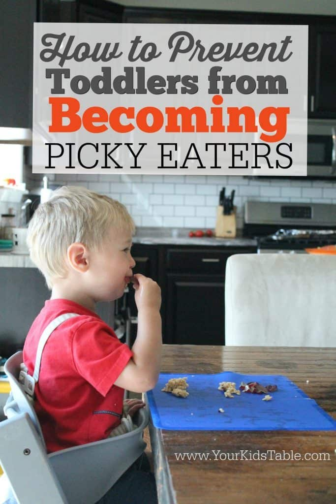 How to Prevent Toddlers from Becoming Picky Eaters