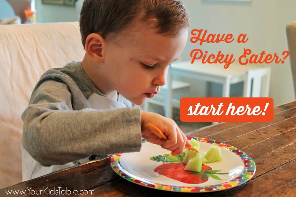 the best eating habits for kids picky eaters included