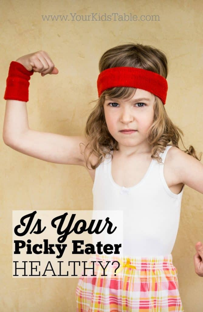 Is Your Picky Eater Healthy?