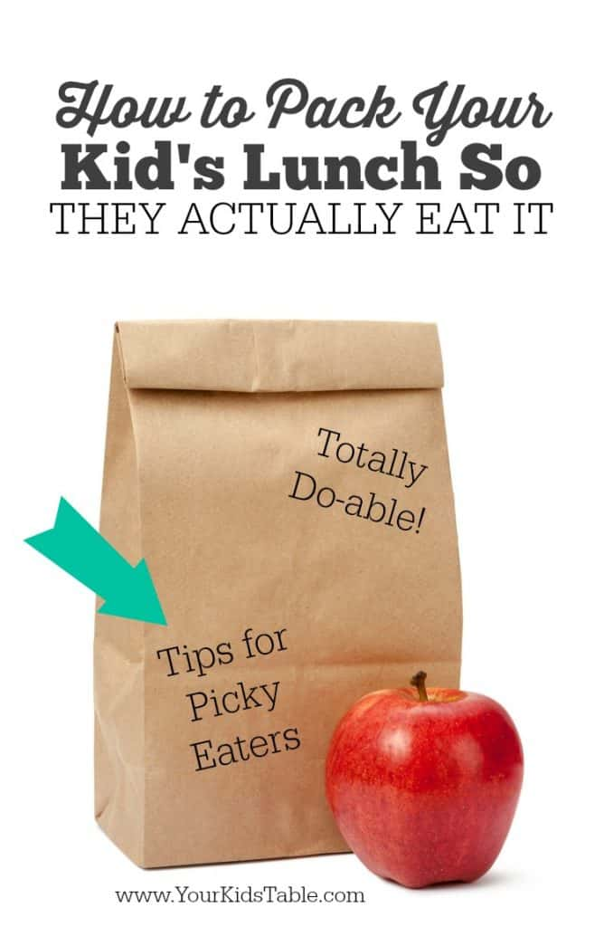 Stop worrying about if your kid is going to trade or toss their packed lunch. Use these 3 tips to pack a lunch your kid will eat!