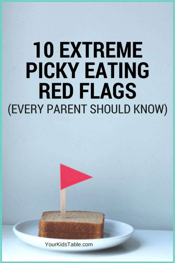 What is extreme picky eating and how is it different from average picky eating? Learn what red flags to look out for in your child...