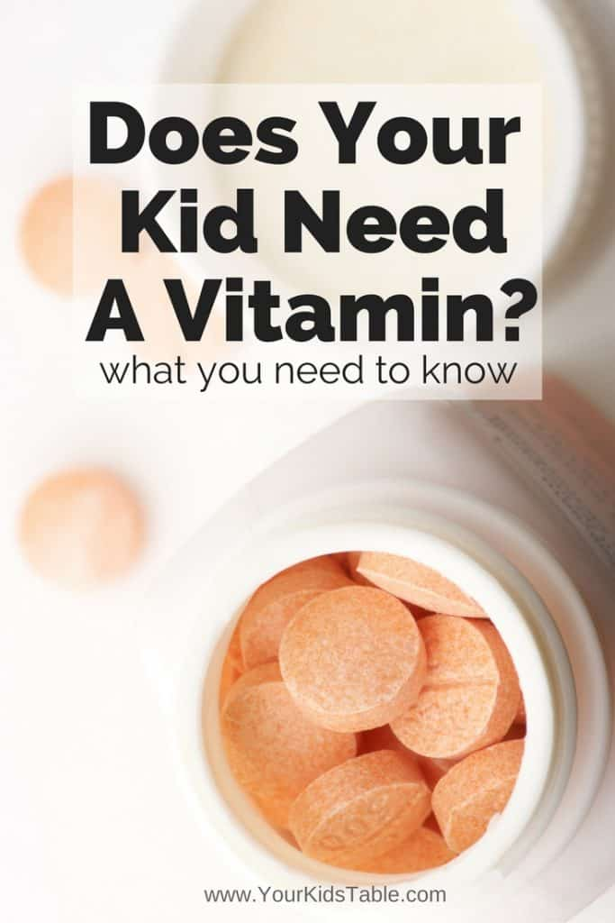Does Your Child Need Vitamins?