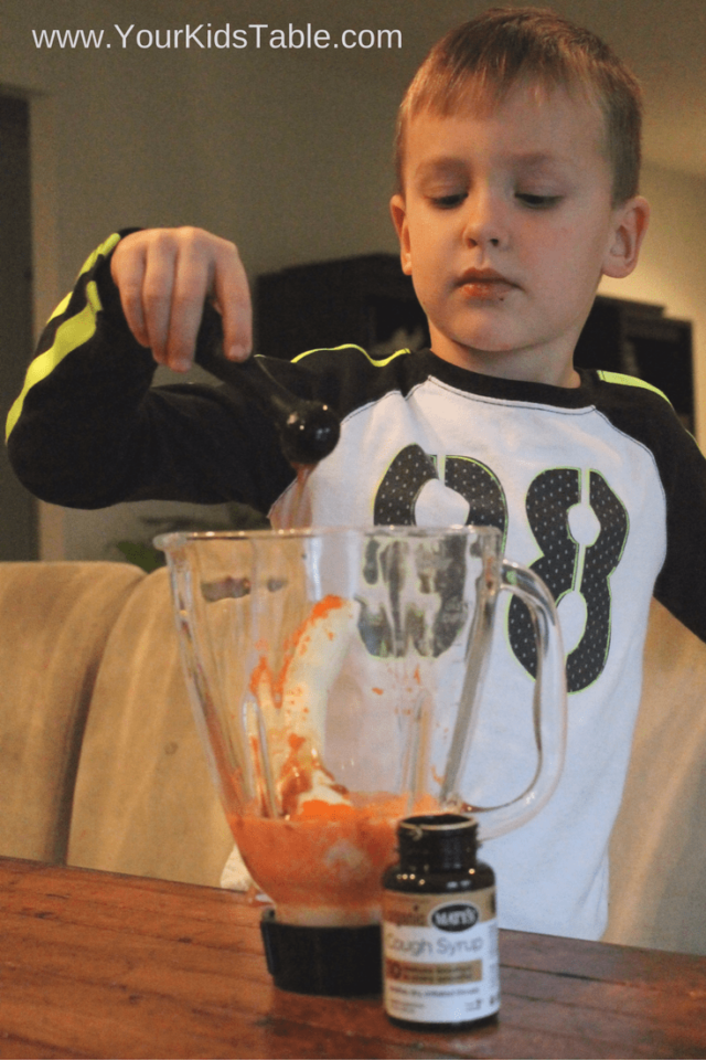Yummy and easy immune booster carrot cake smoothie recipe for kids