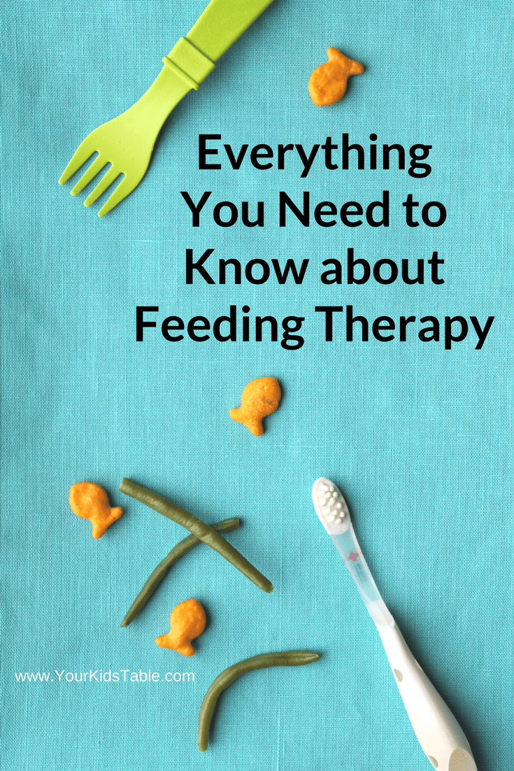 Everything You Need to Know About Feeding Therapy