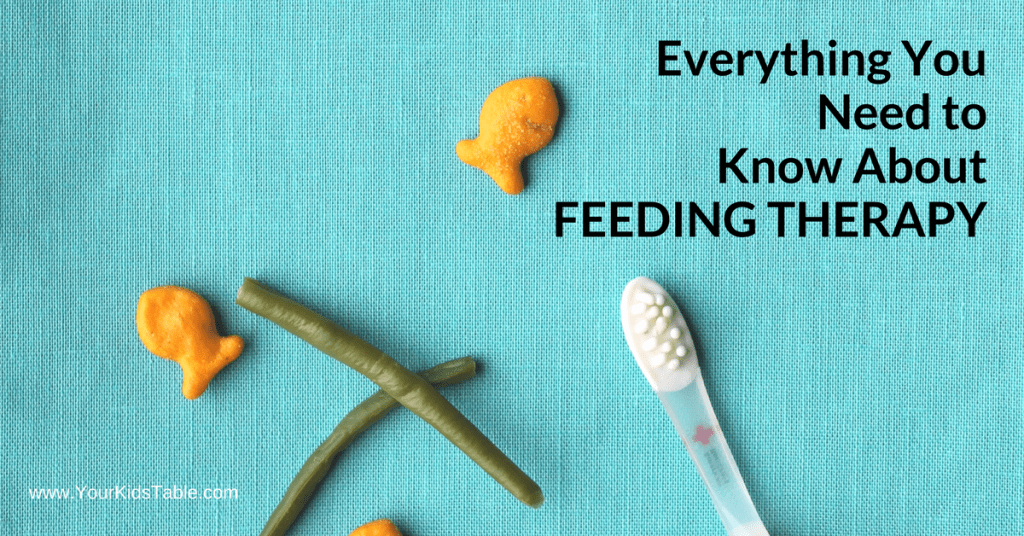 What is feeding therapy? Is feeding therapy for picky eaters, for toddlers? Get all your answers and find out what to expect!