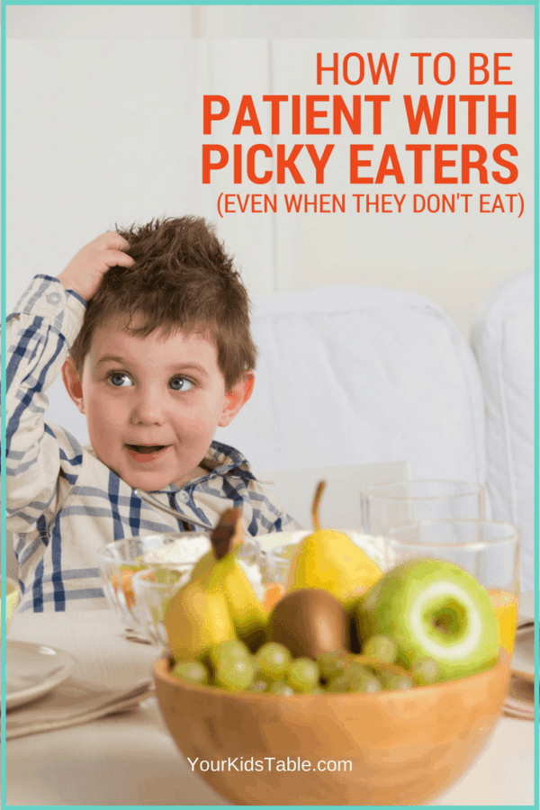 Dealing with picky eaters can be incredibly frustrating! Get these 4 foolproof tips to keep your patience and sanity. Plus tips for picky eaters!