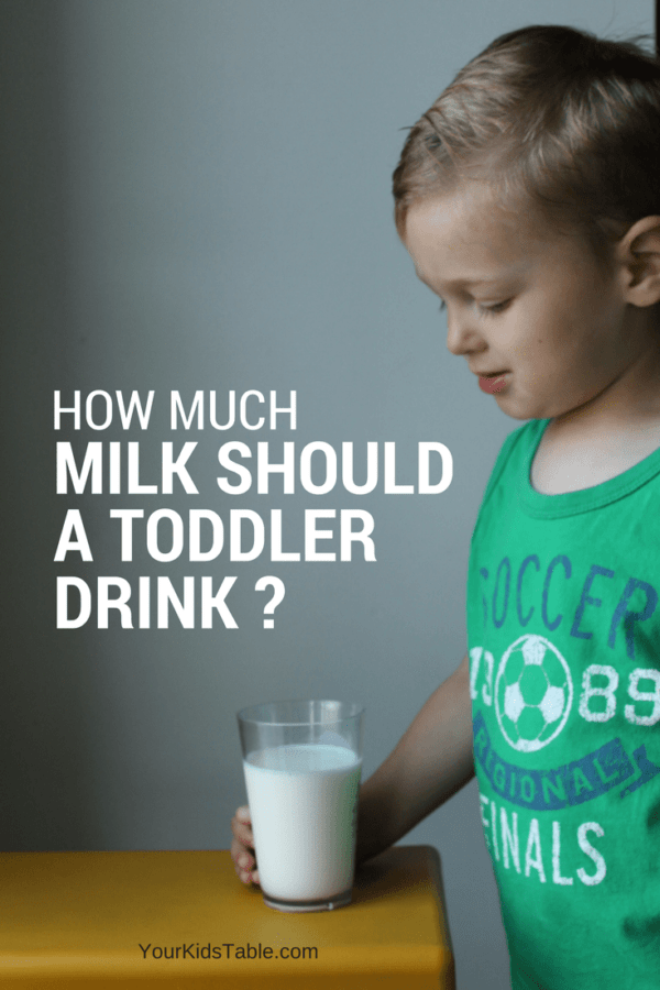 Many parents wonder, how much milk should a toddler drink, because it changes drastically at 1 years old! Get the answer, plus the best sippy cup for milk and what to do when your 2 year won't eat and only drinks milk.