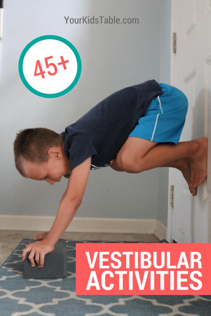 45 Essential Vestibular Activities And Input Ideas Your