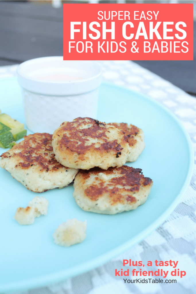 Incredibly Easy Fish Cakes for Kids and Babies
