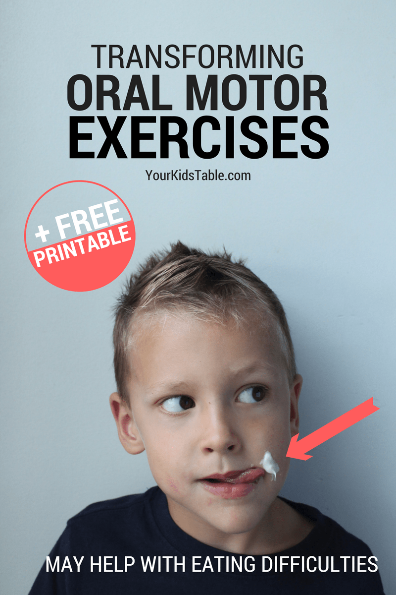 34 Oral Motor Exercises that You Never Knew You Needed