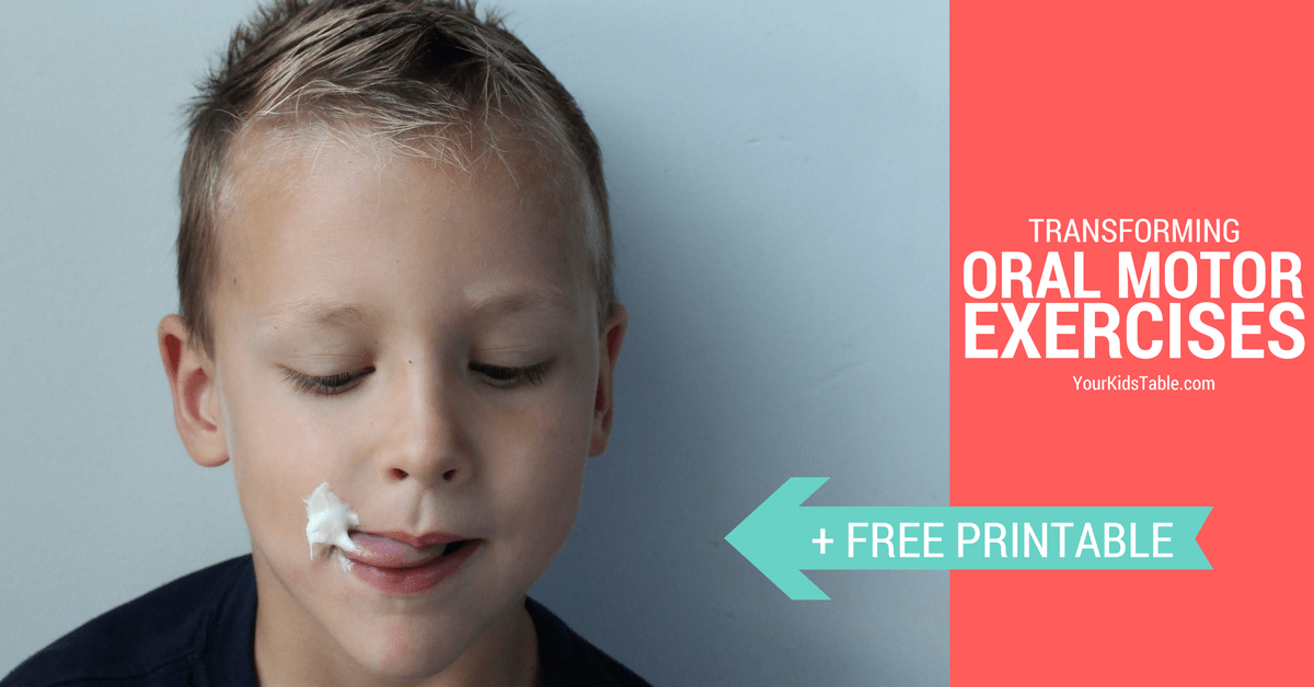 The Most Powerful Oral Motor Exercises For Toddlers And Kids