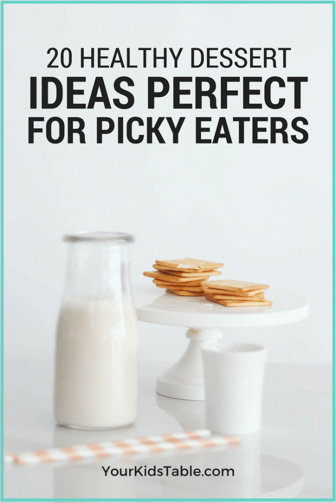 Learn how to handle dessert with picky eaters in a way that teaches them to have a healthy relationship with all types of food. Healthy dessert ideas for picky eaters, too!